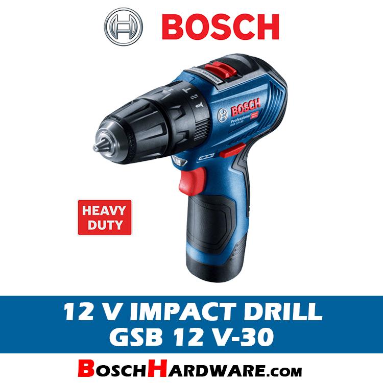 Bosch 12V Cordless Impact Drill GSB 12 V-30