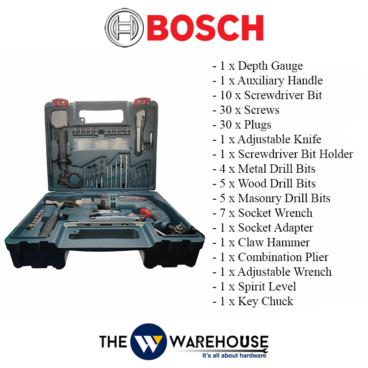 Bosch GSB16RE 100pcs Accs-1