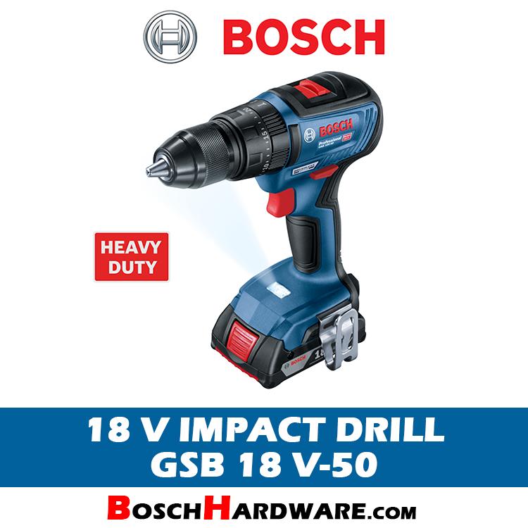 Bosch 18V Cordless Impact Drill GSB 18 V-50