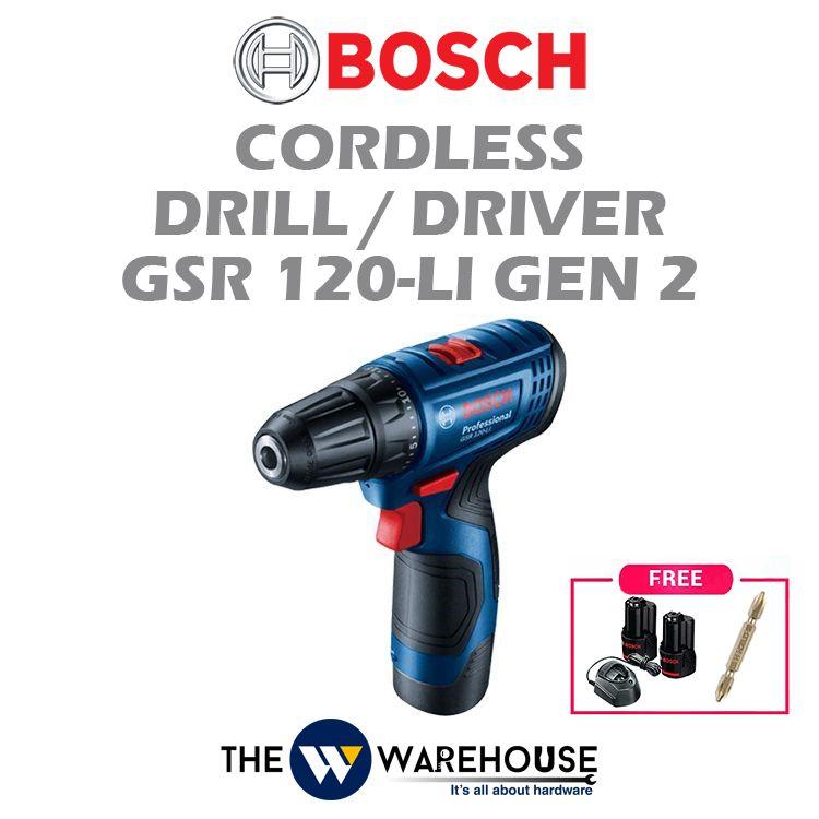 Bosch GSR 120-Li Gen 2 - Combo 3