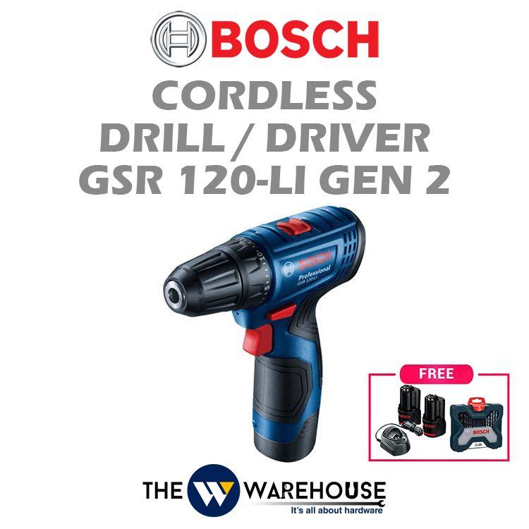Bosch GSR 120-Li Gen 2 - Combo 4