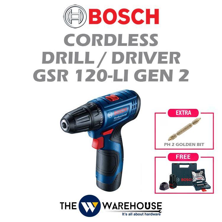 Bosch GSR 120-Li Gen 2 - Combo 6