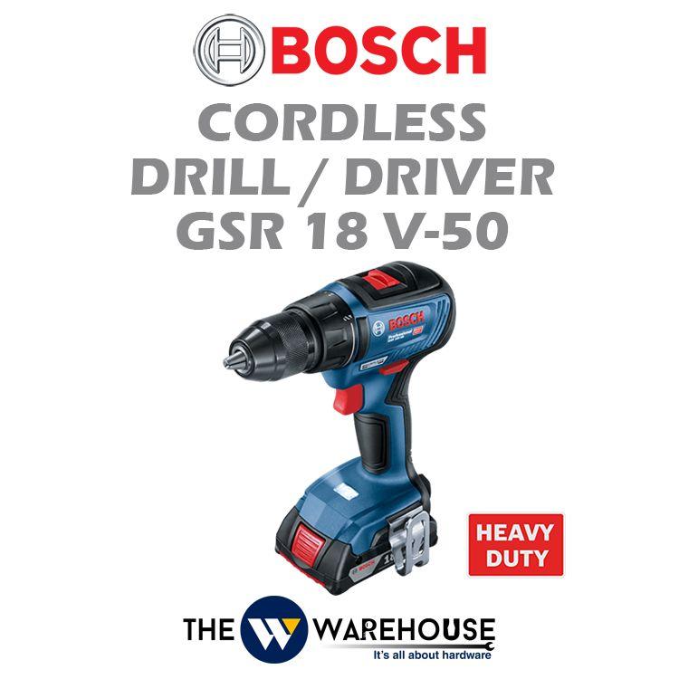 Bosch Cordless Drill / Driver GSR 18 V-50