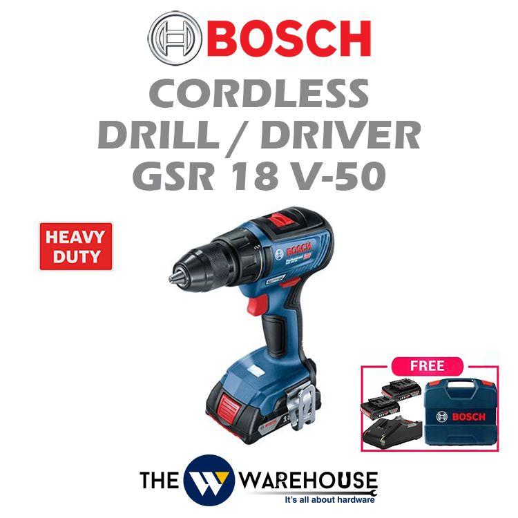 Bosch GSR18V-50 - standard