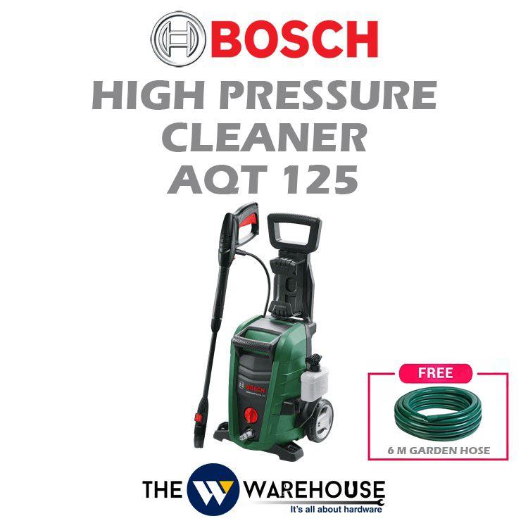 Bosch High Pressure Cleaner AQT125 - Combo