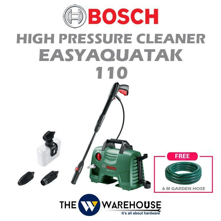 Bosch High Pressure Cleaner Easyaquatak 110 - Combo