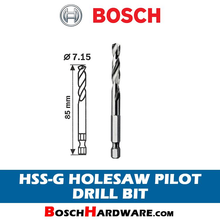 Bosch HSS-G Holesaw Pilot Drill Bit 2608594254 bh