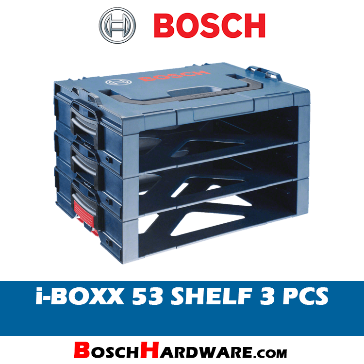 Bosch i-Boxx Shelf 3 pcs