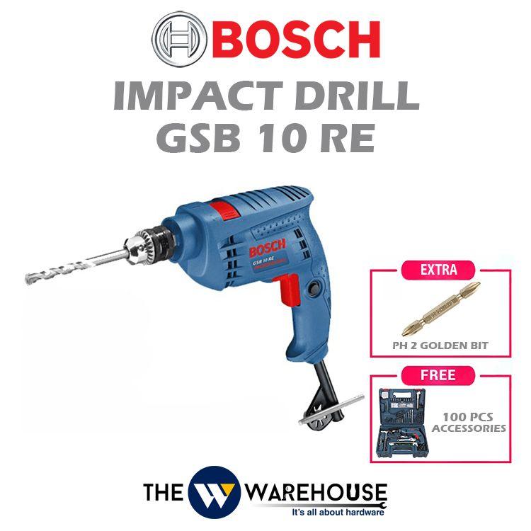 Bosch Impact Drill GSB10RE - combo 2