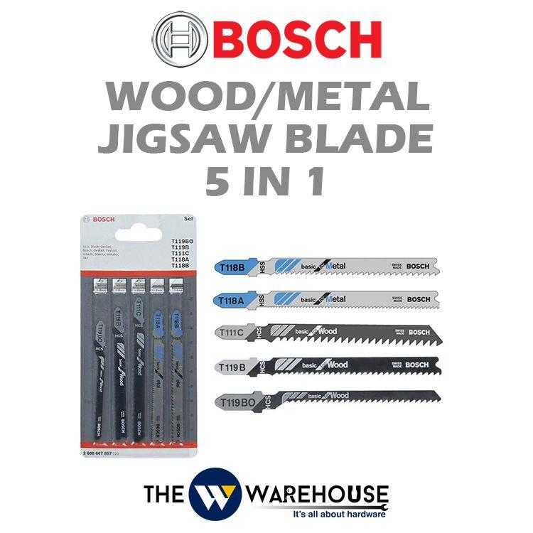 Bosch Jigsaw Blade Set 2608667857
