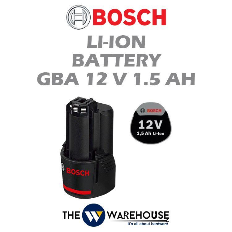 Bosch Li-Ion Battery GBA 12V 1.5Ah