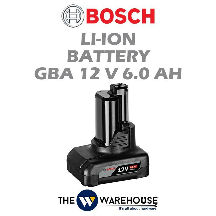 Bosch Li-Ion Battery GBA 12V 6.0Ah
