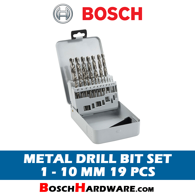 Bosch 19pcs Metal Drill Bit Set 2607019116