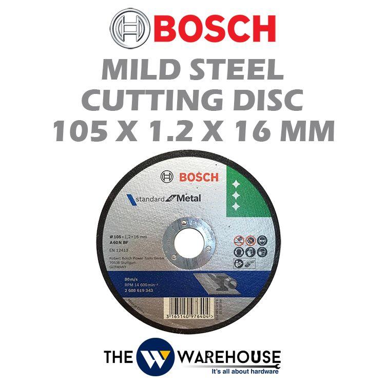 Bosch Mild Steel Cutting Disc 4 inch 2608619343