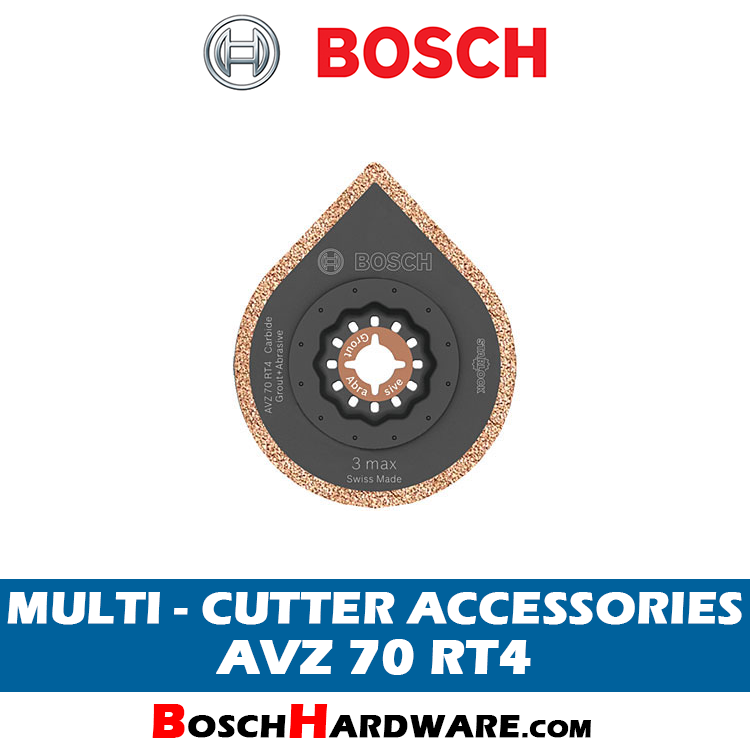 BOSCH MULTI CUTTER ACCESSORIES AVZ70RT4 2608661757 BH