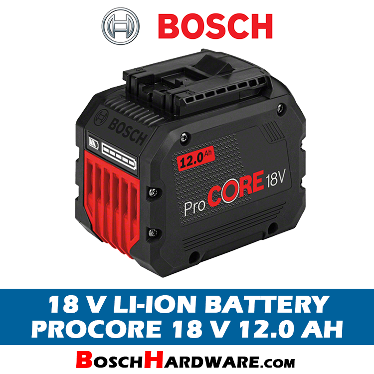 Bosch ProCore Battery 18V 12.0Ah
