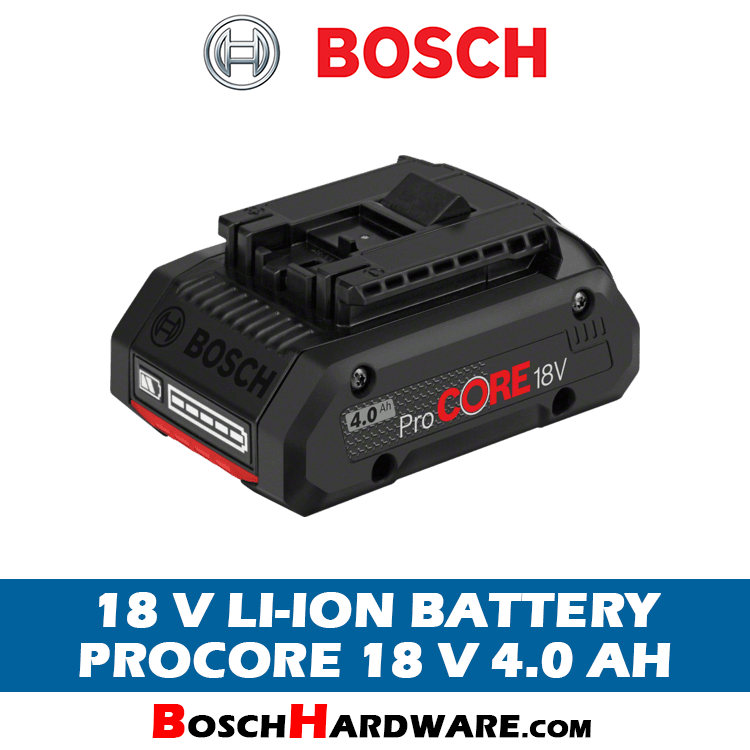 Bosch ProCore Battery 18V 4.0Ah