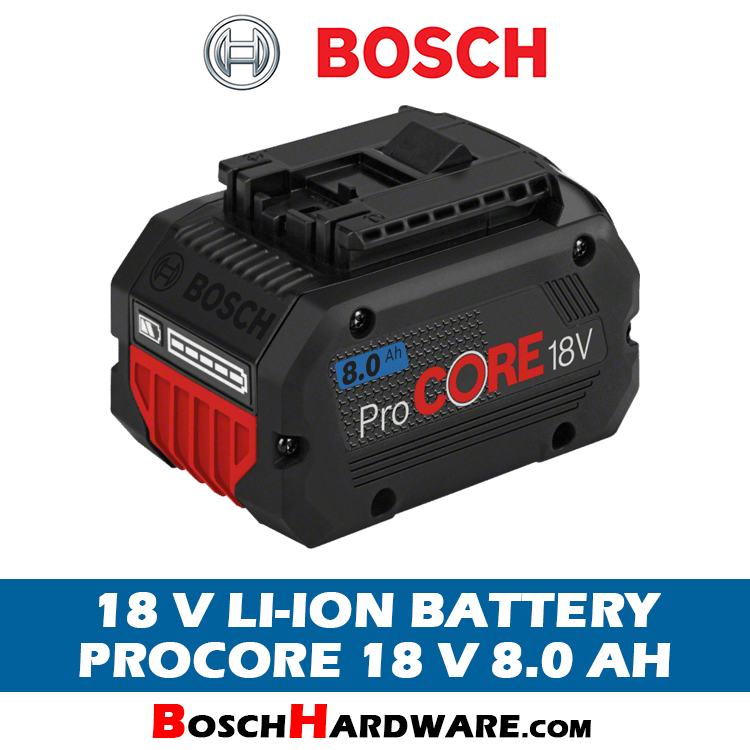 Bosch ProCore Battery 18V 8.0Ah