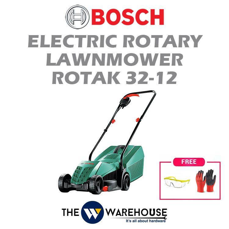 Bosch Electric Rotary Lawnmower Rotak 32-12