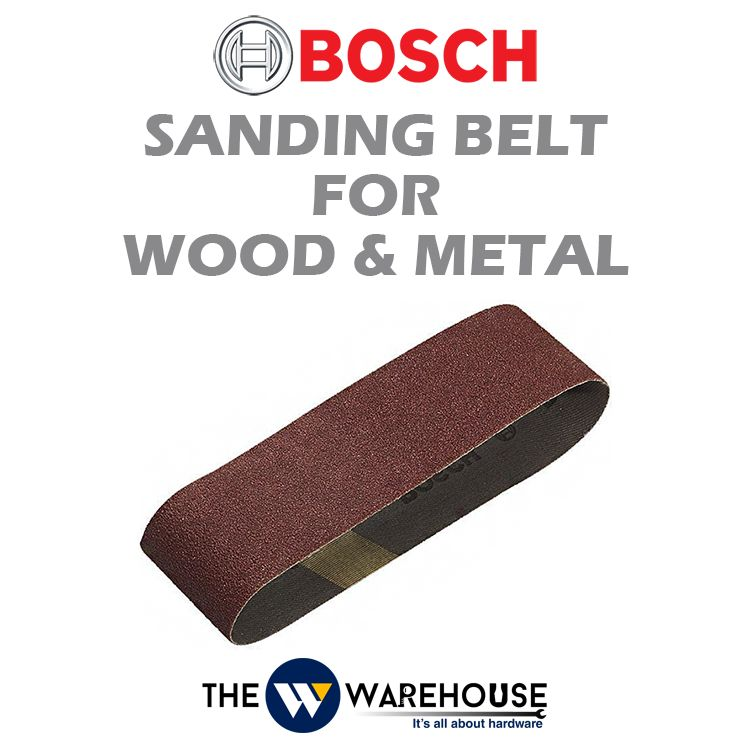 Bosch Sanding Belt for Wood & Metal