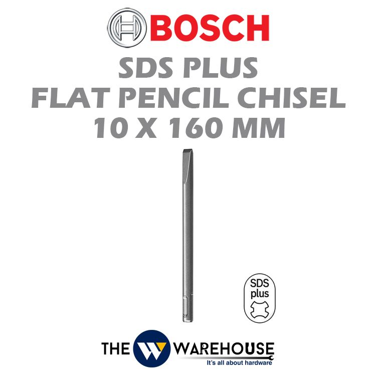 Bosch SDS Plus Flat Pencil Chisel 2608690122