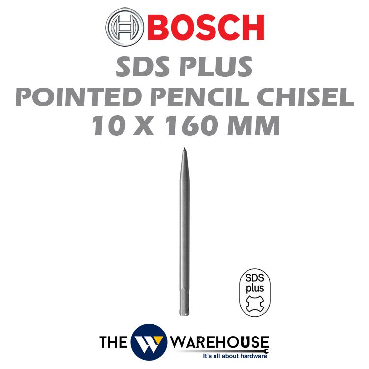 Bosch SDS Plus Pointed Pencil Chisel 2608690120