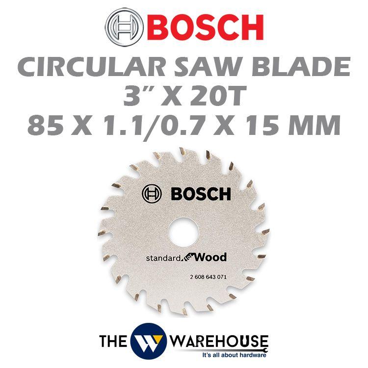 Bosch Standard for wood Circular Saw Blade 2608643071
