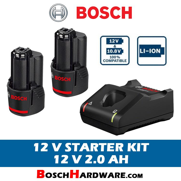 Bosch Starter Kit 12V 2.0Ah
