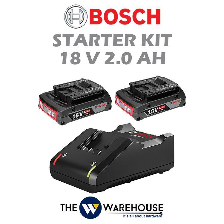 Bosch Starter Kit 18V 2.0Ah