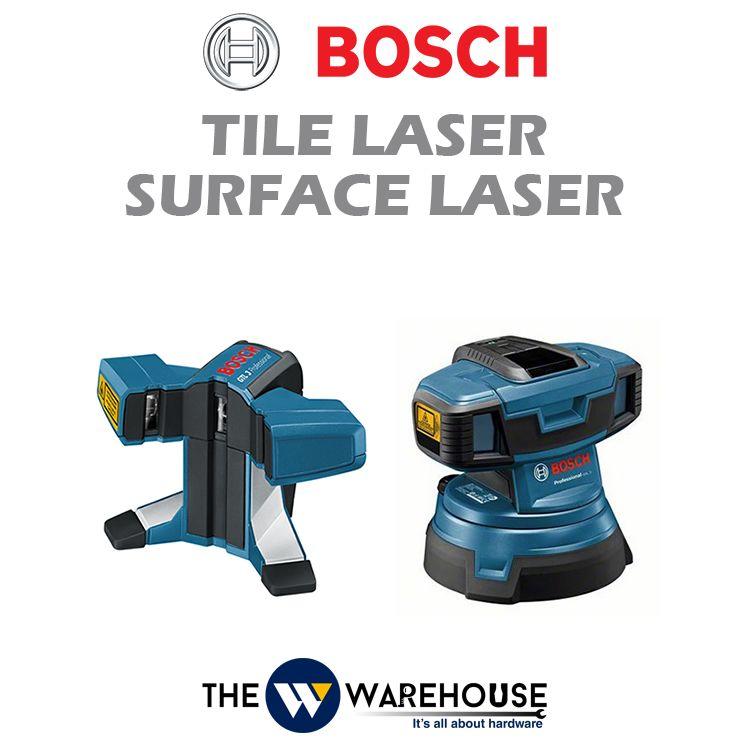 Bosch Surface Laser and Tile Laser