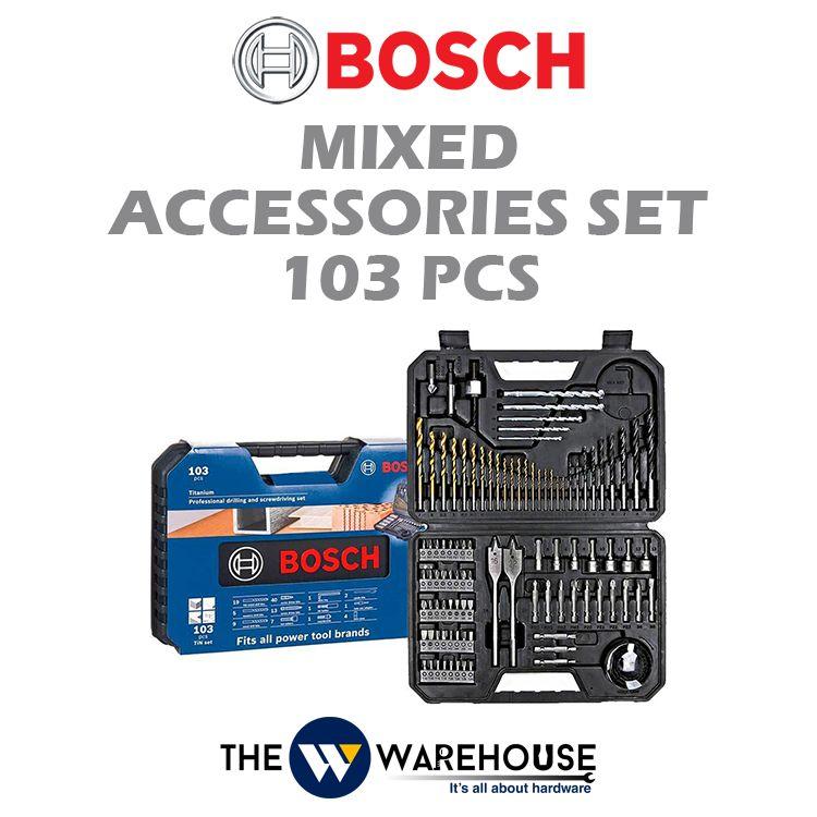Bosch 103 pcs Titanium Drilling and Screwdriving Bit Set 2608594070