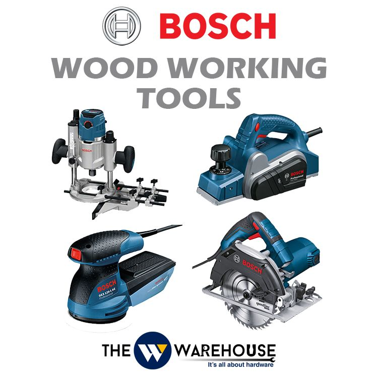 Bosch Wood Working Tools