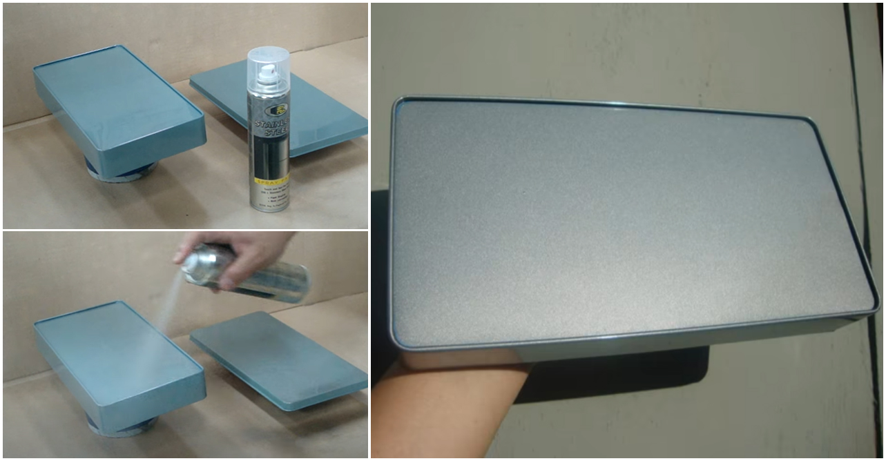 bosny stainless steel spray paint - p1