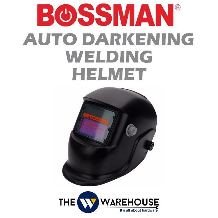 Bossman Auto Darkening Welding Helmet