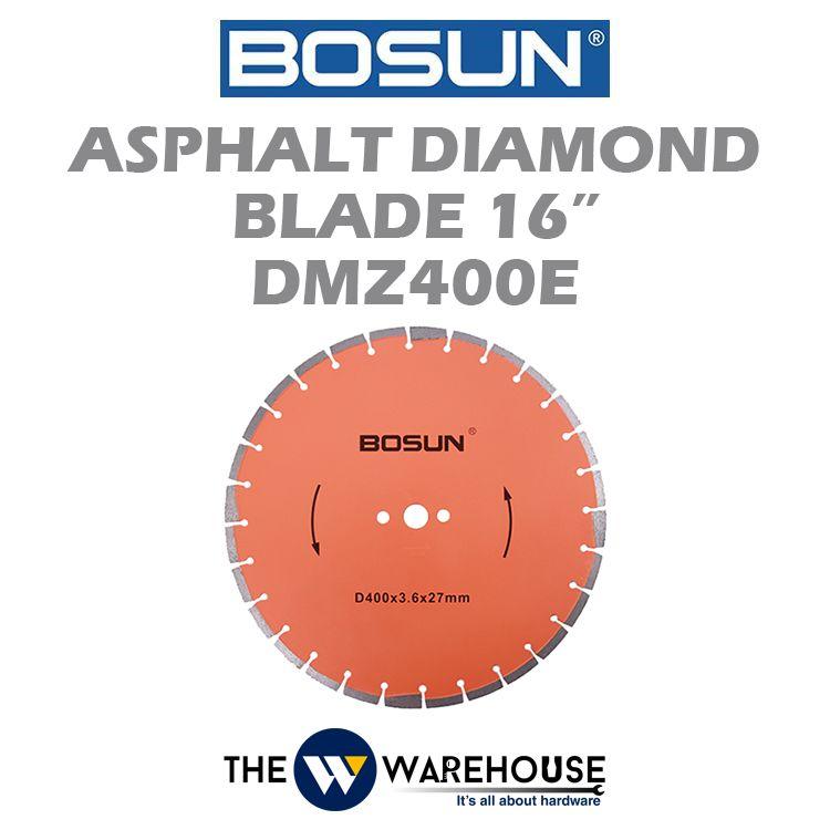 Bosun Asphalt Diamond Blade 16