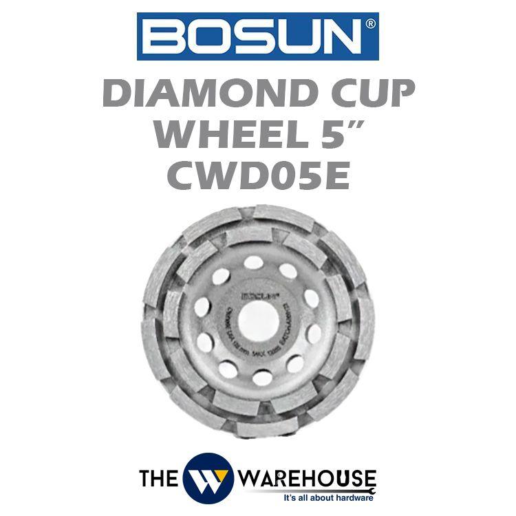 Bosun Diamond Cup Wheel 5