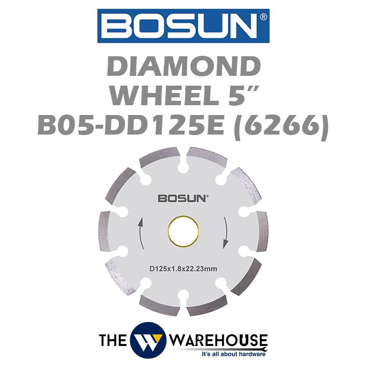 Bosun Diamond Wheel 5