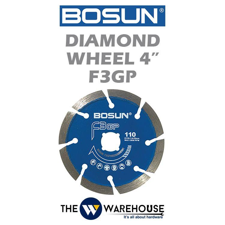 Bosun Diamond Wheel F3GP