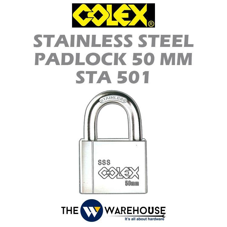 Colex Stainless Steel Padlock STA501