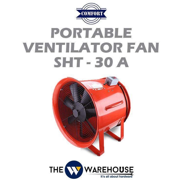 Comfort Portable Ventilator Fan SHT-30A