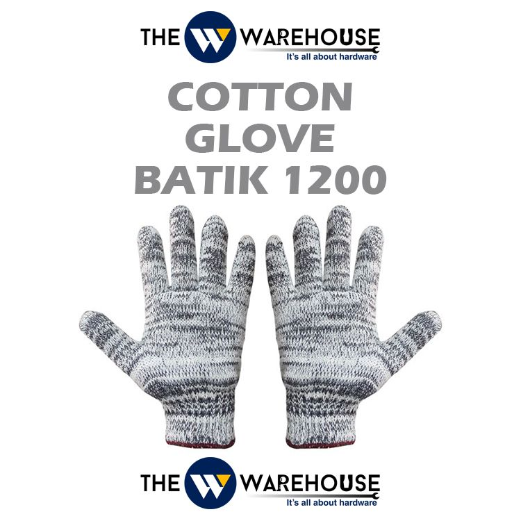 Cotton Glove Grade Batik 1200