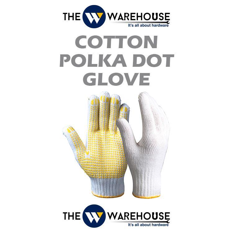 Cotton Polka Dot Glove