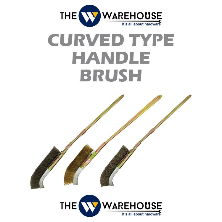 Curved Type Handle Brush
