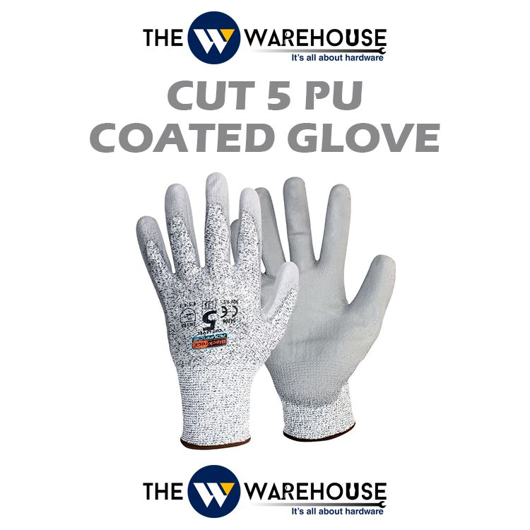 Cut 5 PU Coated Glove