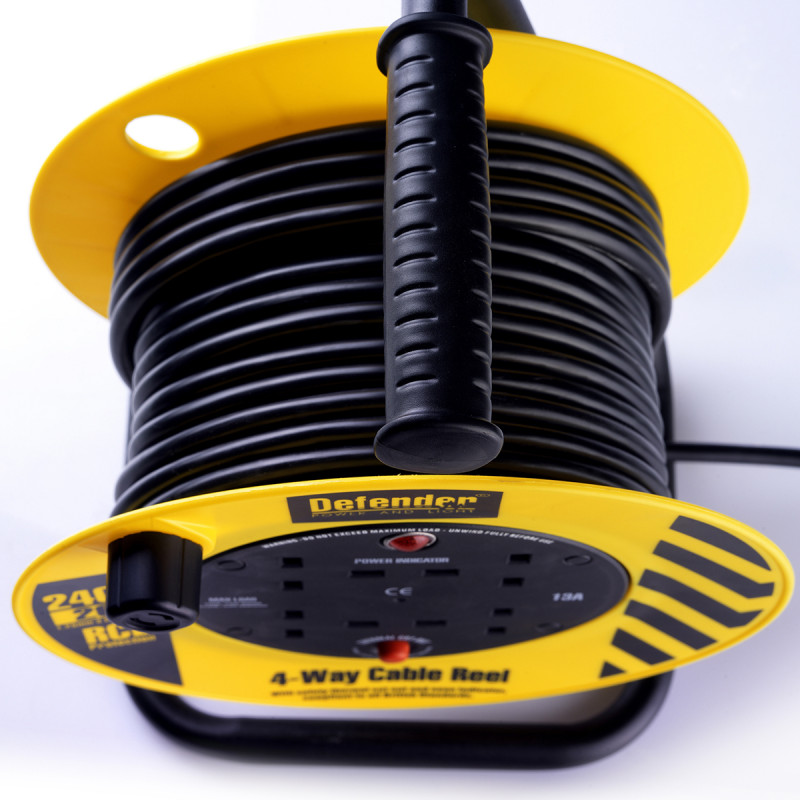 Defender Cable Reel 20 mtr