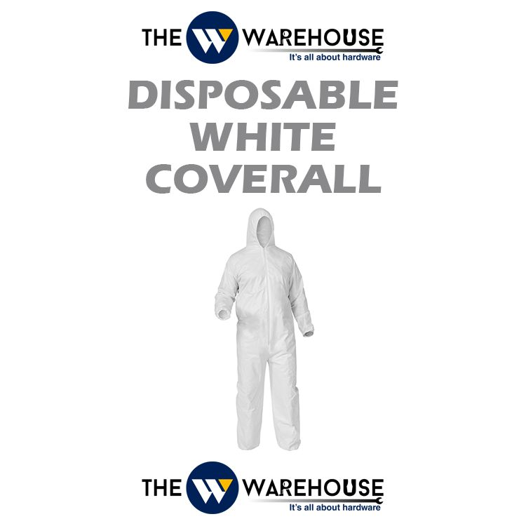 Disposable White Coverall