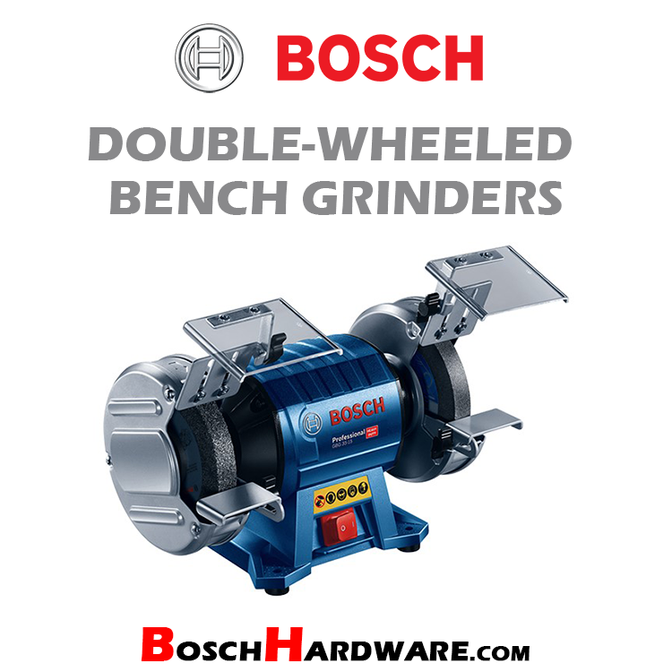 Double-Wheeled Bench Grinders
