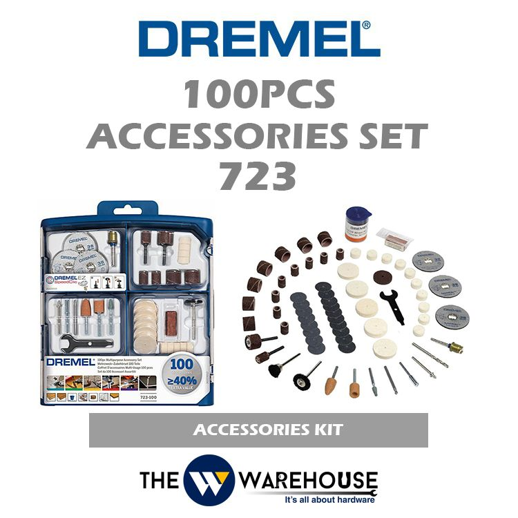 Dremel 100pcs Accessories Set 723