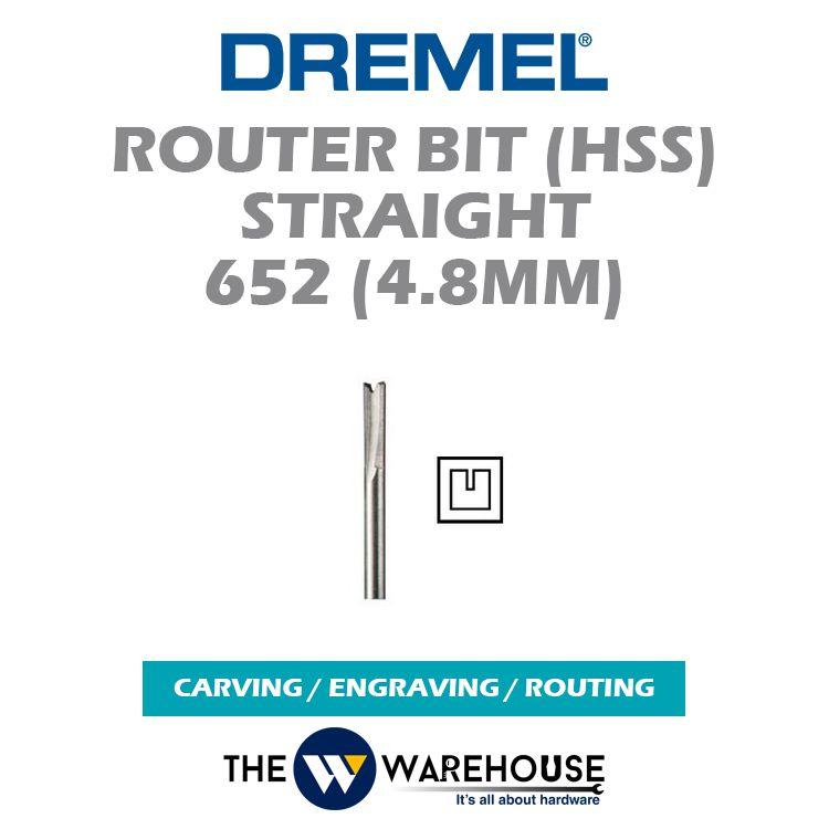 Dremel Router Bit Straight 652