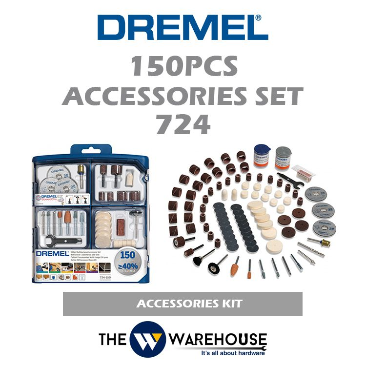 Dremel 150 pcs Accessories Set 724